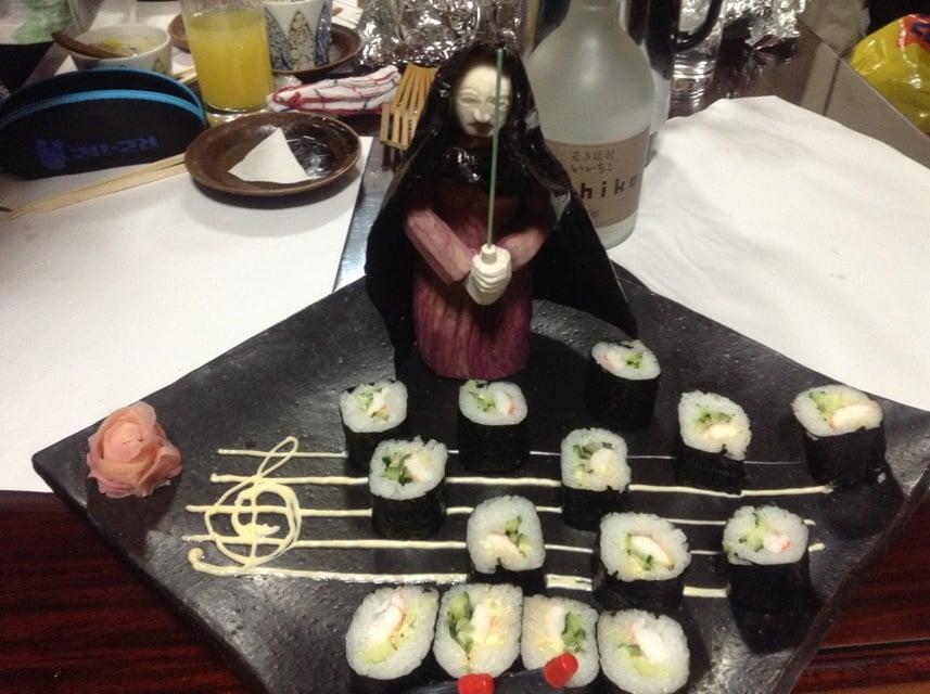 Sushi Star Wars empereur