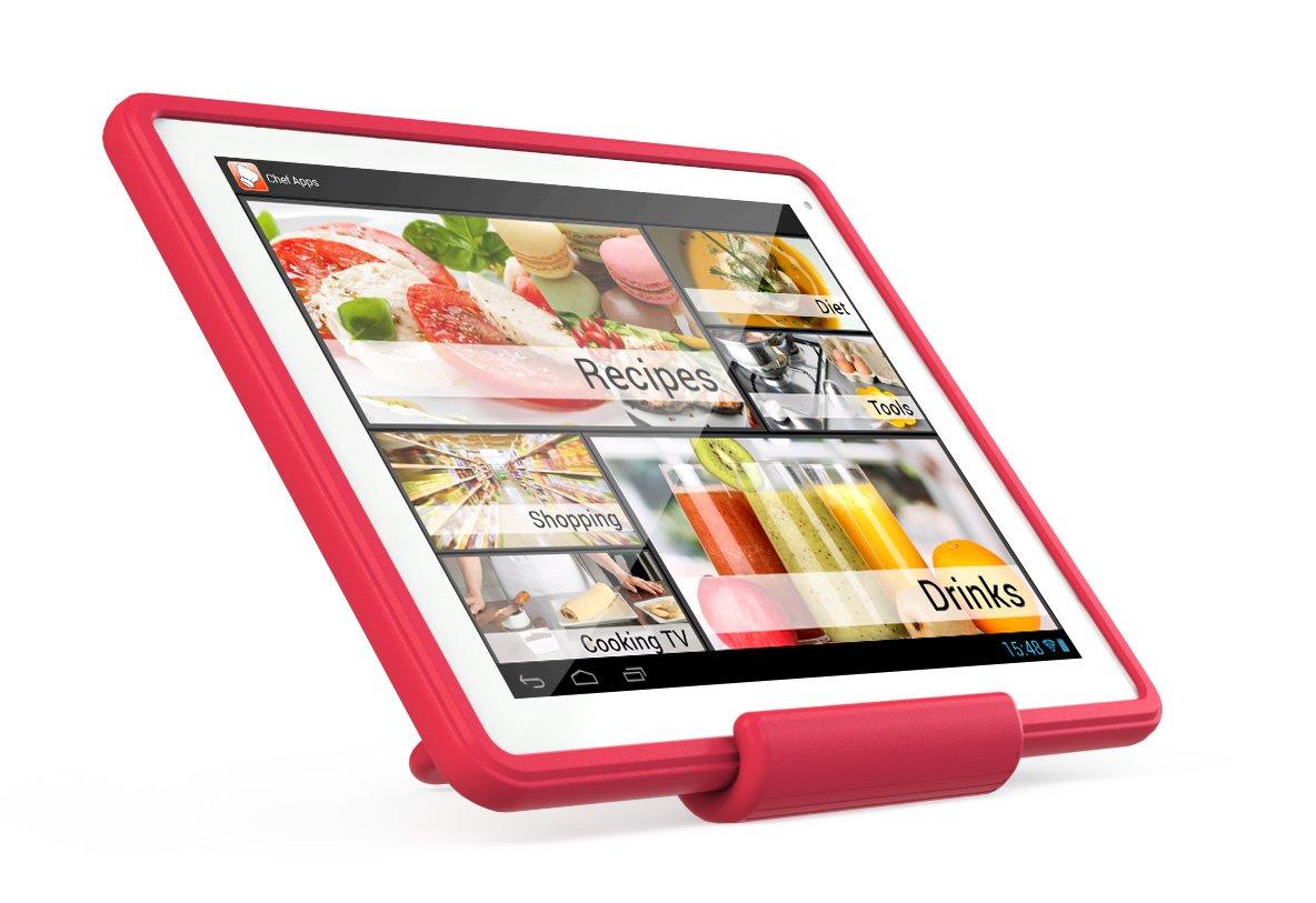 cuisiner avec sa tablette chefpad archos