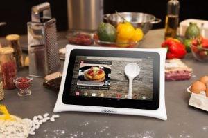cuisiner avec sa tablette qooq