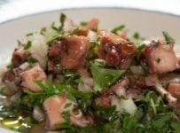 salade de poulpe portugaise