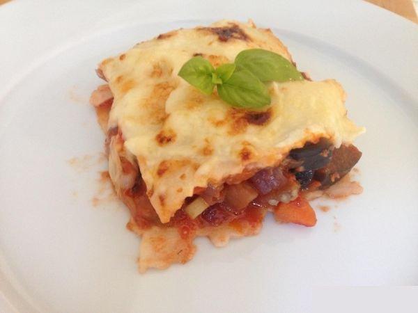 Lasagne aux legumes lasanha