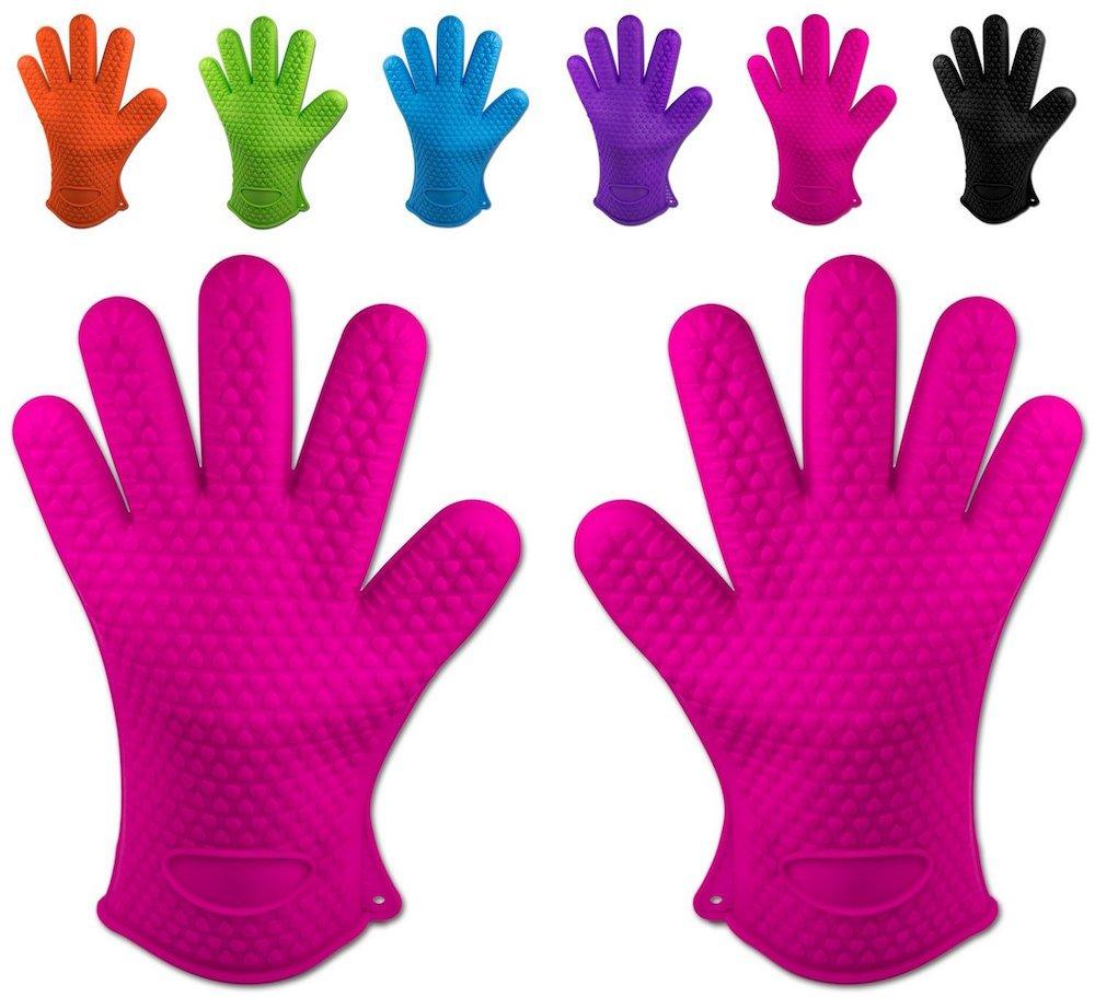 gants en silicone