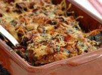 recette gratin d'aubergines portugais