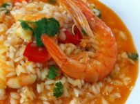 riz aux fruits de mer Arroz de marisco