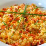 Risotto carottes arroz de Cenoura