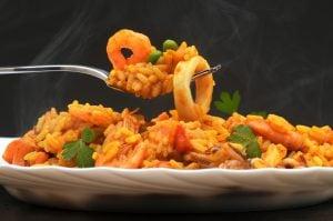 riz fruits de mer arroz de marisco