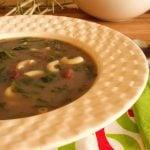 soupe de pois rouge sopa de feijao
