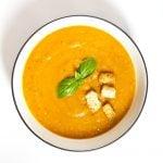 soupe de potiron sopa de abobora