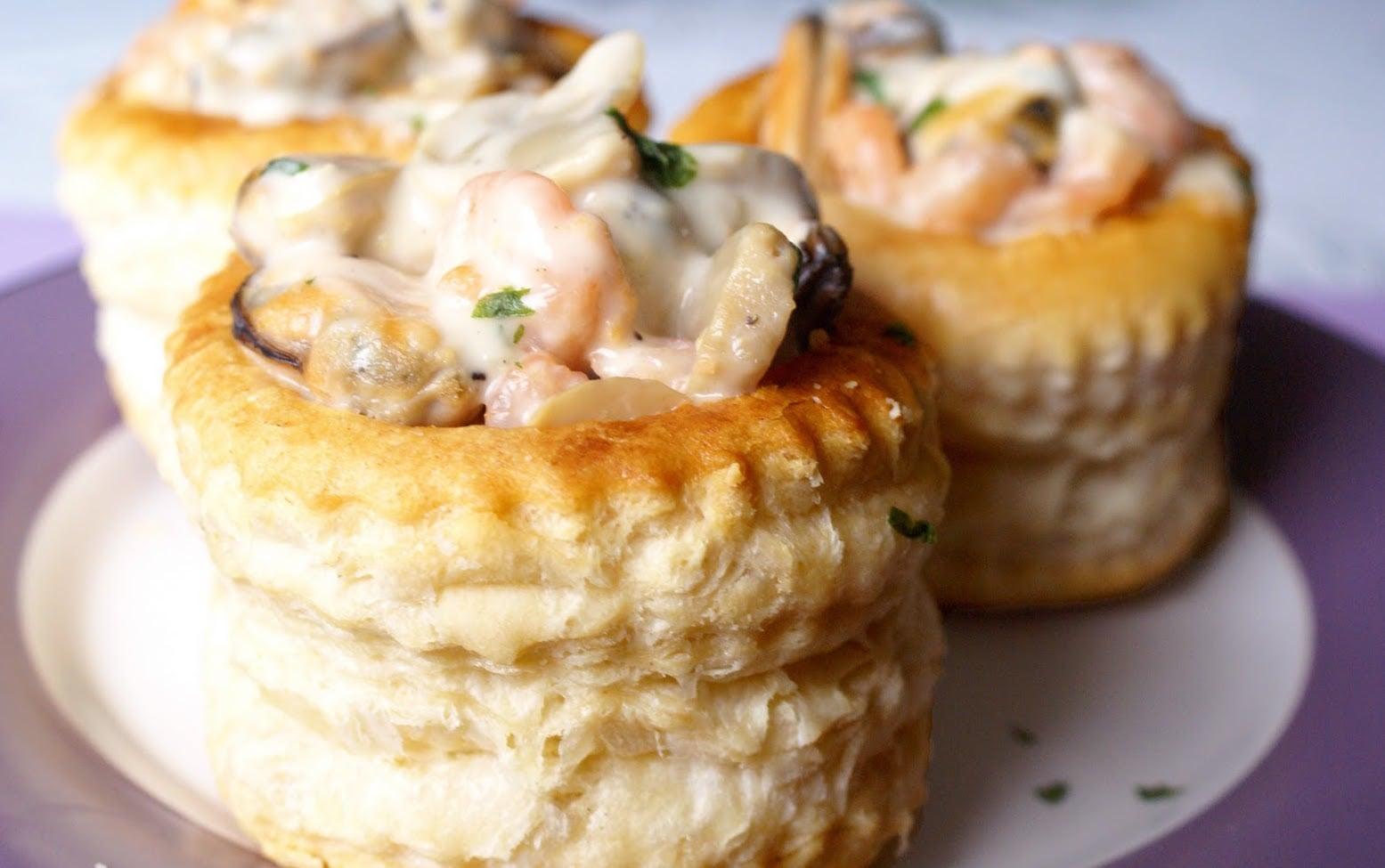 Bouch e aux fruits de mer savoureuses marmite du monde - Pates aux fruits de mer vin blanc ...