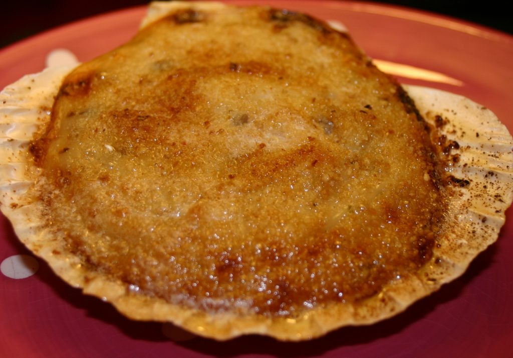 Coquilles Saint-Jacques a la Bretonne cuisine portugaise