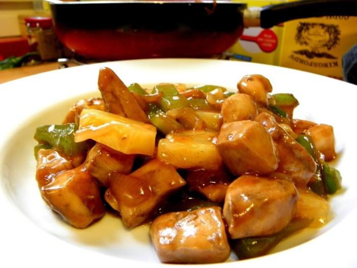 Poulet sauce aigre-douce delicieux