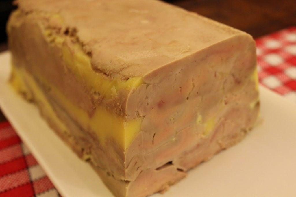 Terrine de foie gras facile