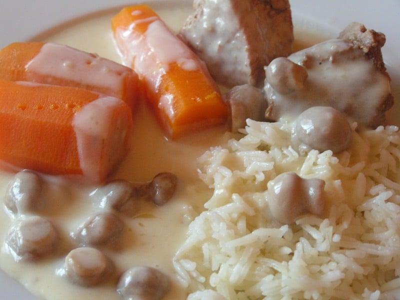 blanquette de veau riz