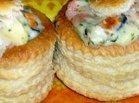 bouchees aux fruits de mer recette
