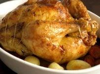 poulet rôti au four recette facile