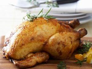 poulet rôti romarin