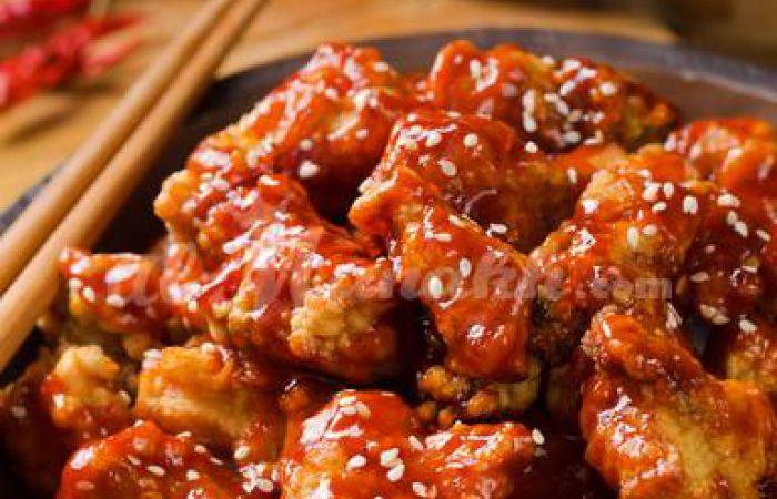 Poulet sauce aigre-douce facile