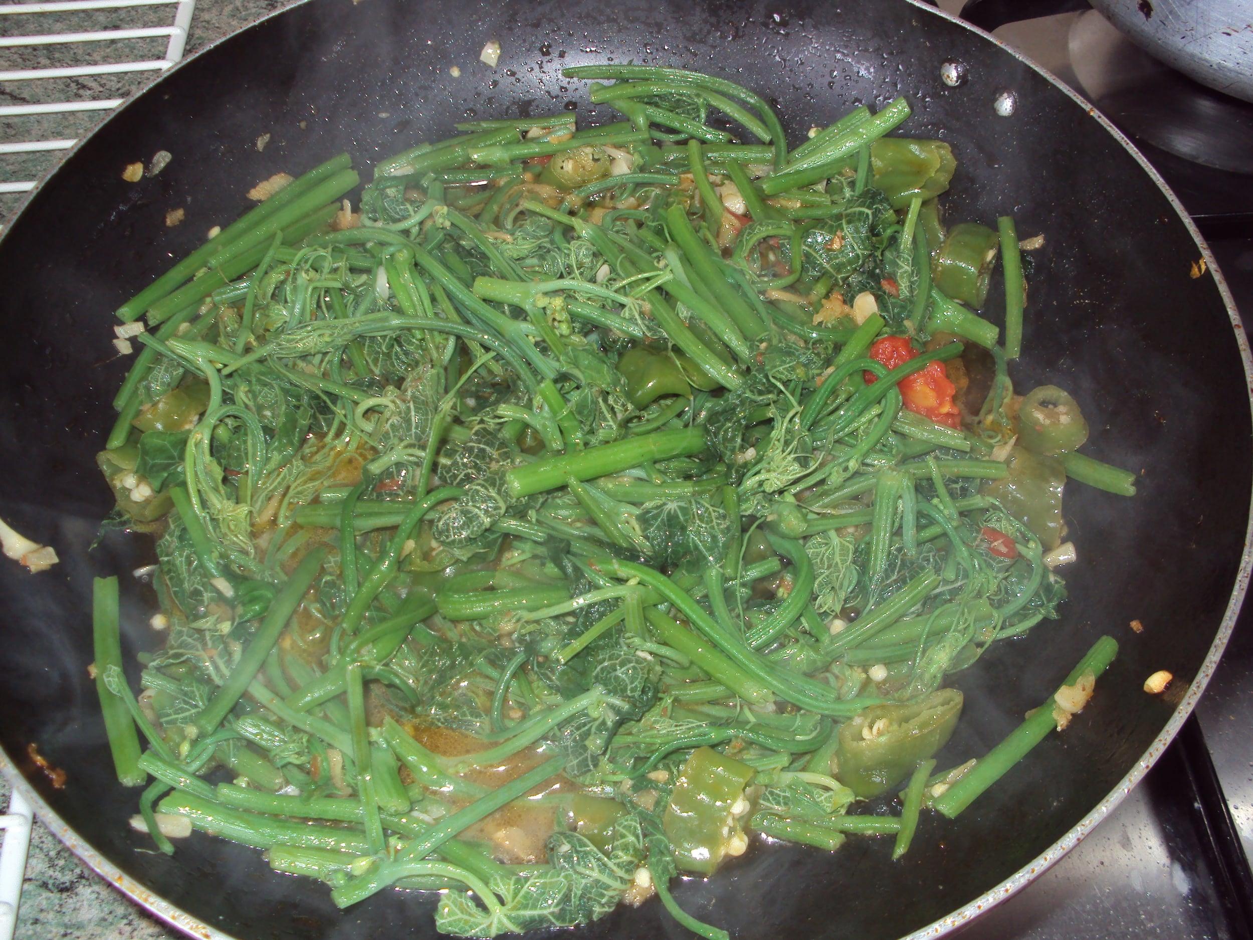 riz aux brèdes malgache