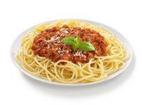 spaghetti bolognaise italienne