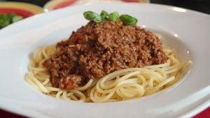 spaghetti bolognaise recette rapide facile