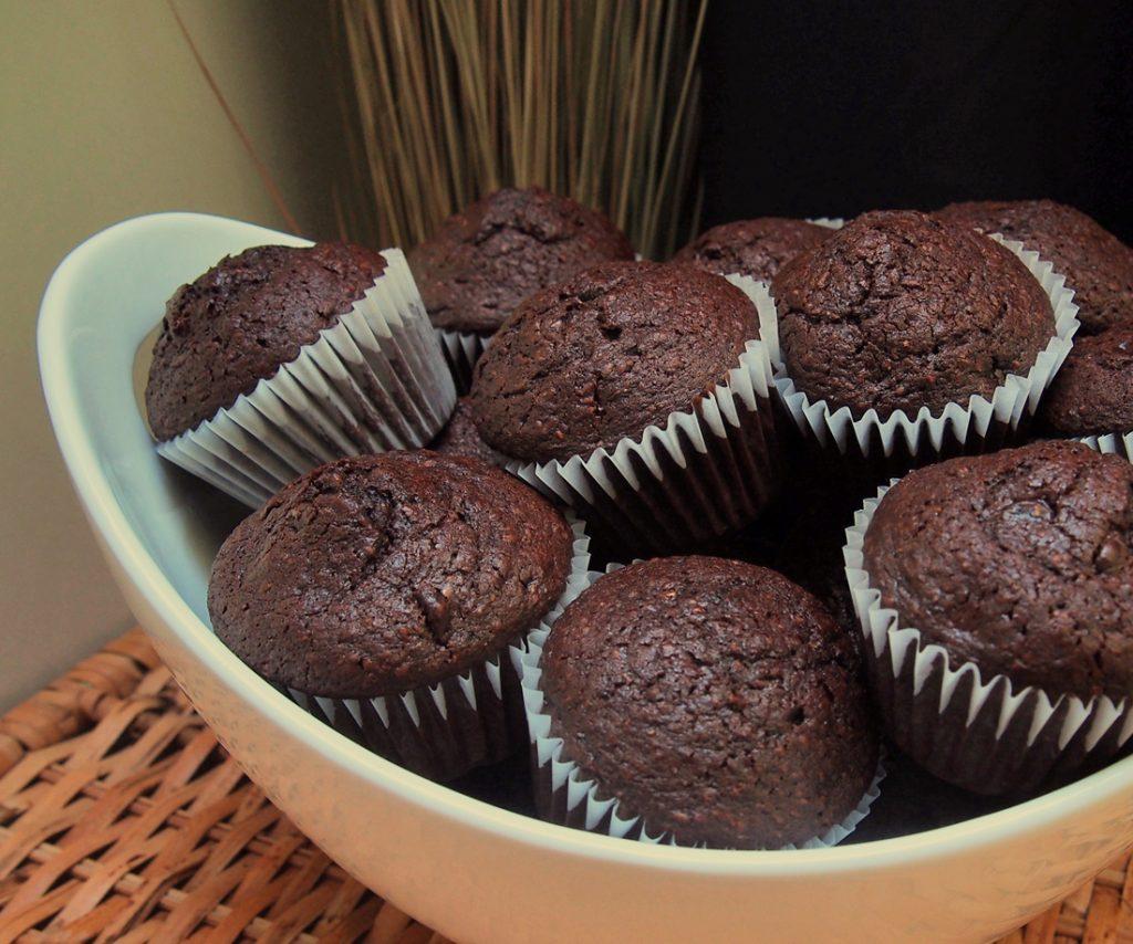muffins au chocolat simples
