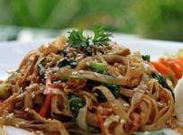 nouilles chinoises sautee recette