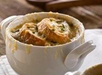 soupe à l'oignon recette