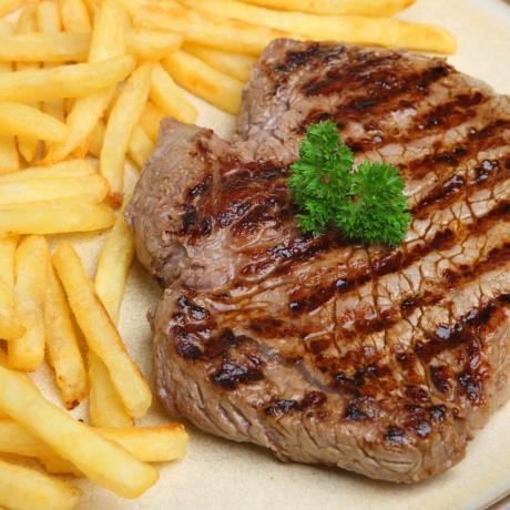 steak frites recette