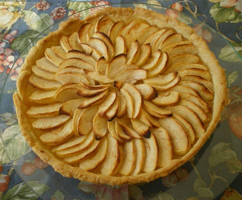 tarte aux pommes golden