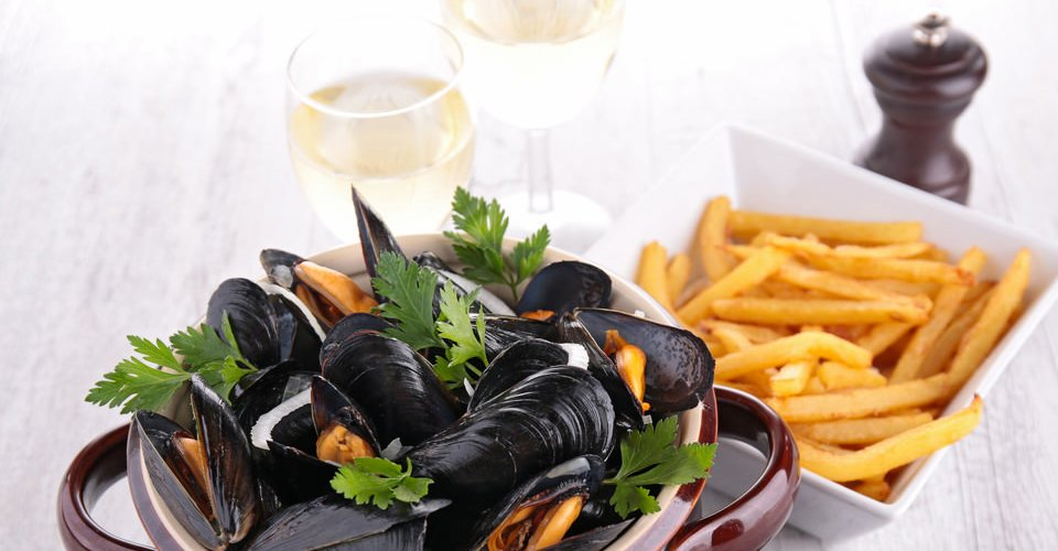 moules frites rapide