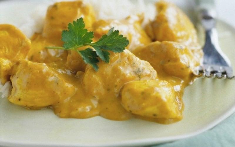 poulet au curry recette facile