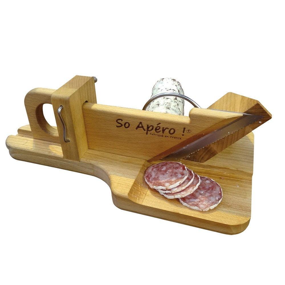 Idées cadeaux cuisine guillotine a saucisson apéritif