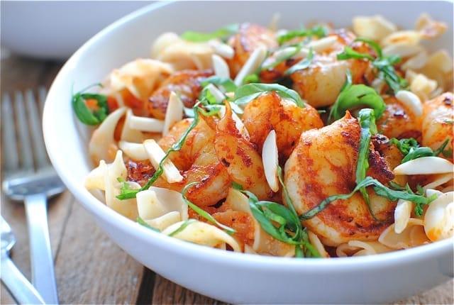 nouilles aux crevettes gingembre
