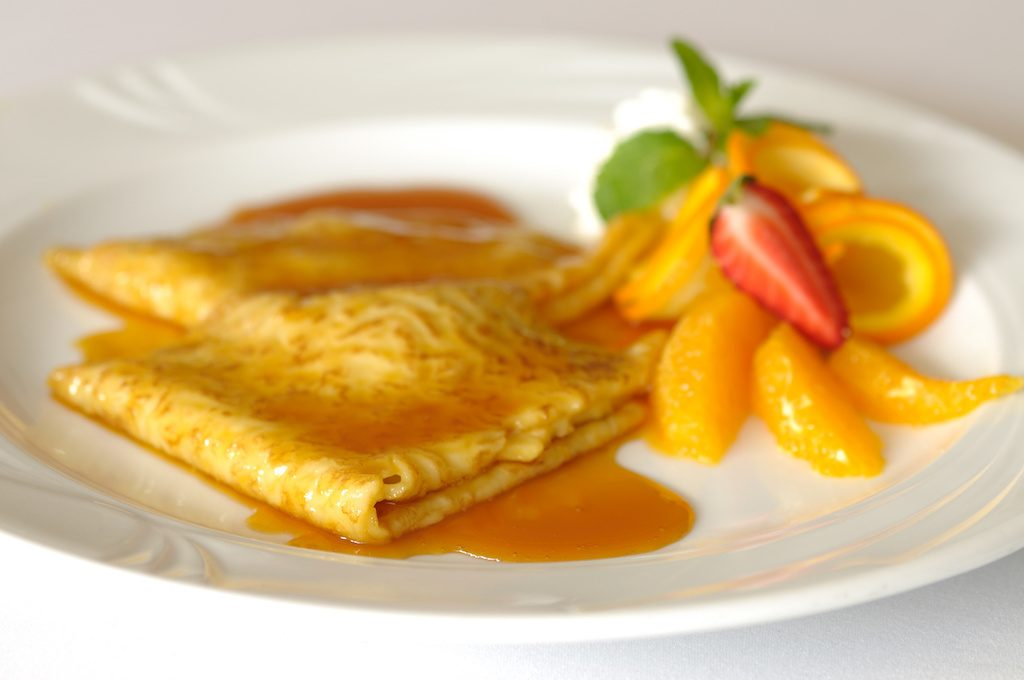 crêpes à l'orange facile