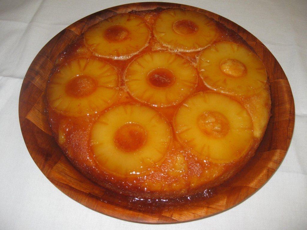 gâteau à l'ananas tropical