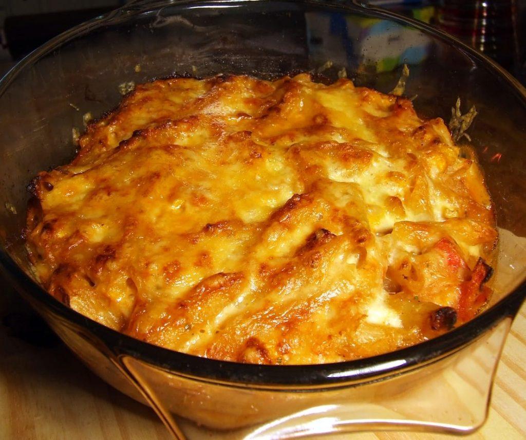 gratin de macaronis au fromage recette
