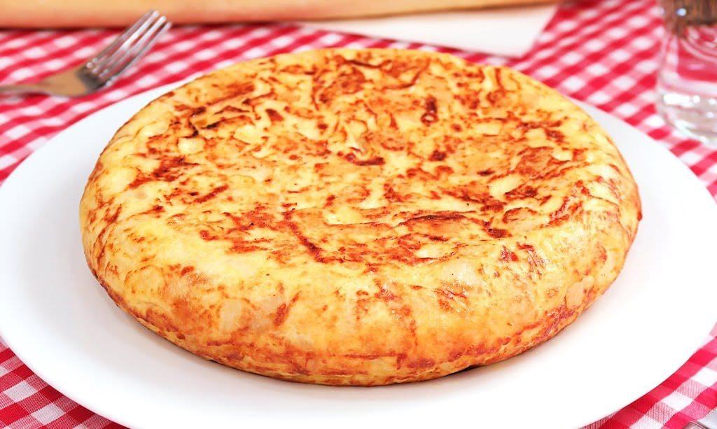 omelette espagnole tortilla de patatas