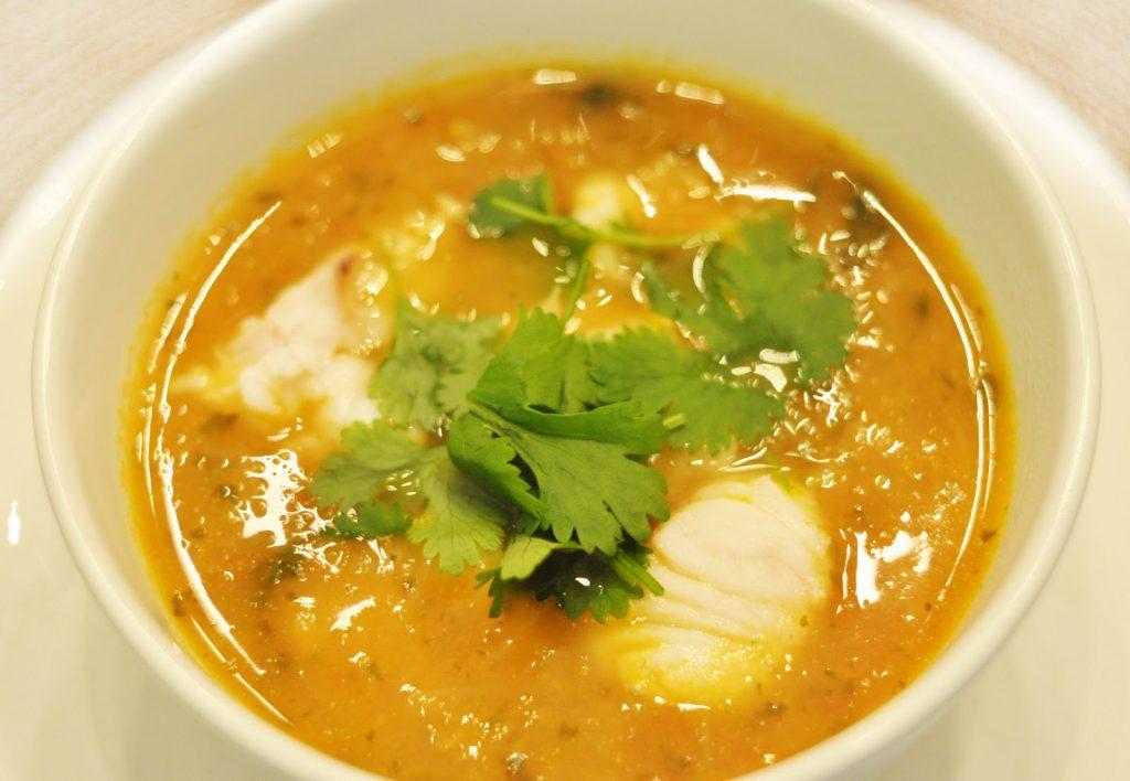 soupe de poissons et fruits de mer