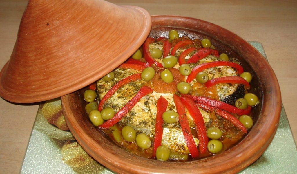 Tajine de poisson marocain recette