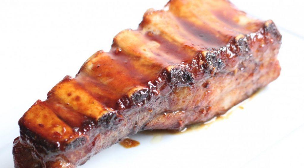 Travers de porc caram lis comme au texas marmite du monde - Paupiette de porc a la poele ...