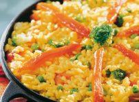 paella vegetarienne