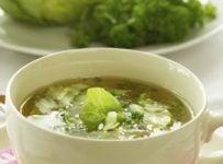 Soupe au chou vert