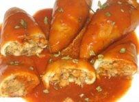 Encornets farcis sauce armoricaine recette