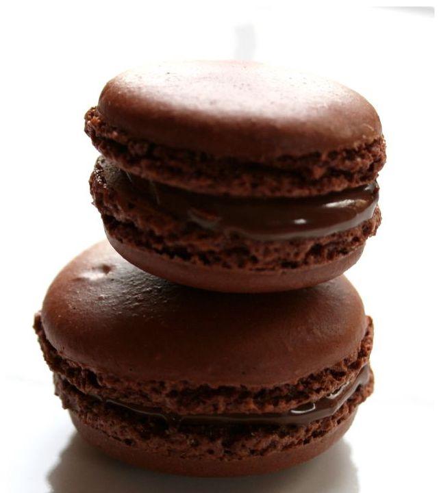 Macarons au Nutella chocolat noisettes