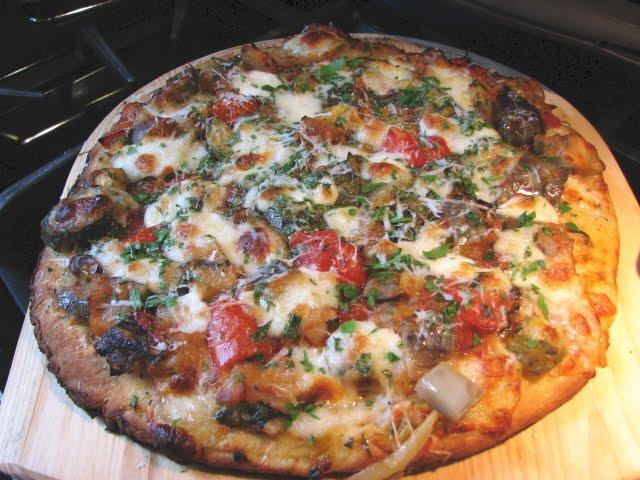 pizza a la ratatouille recette