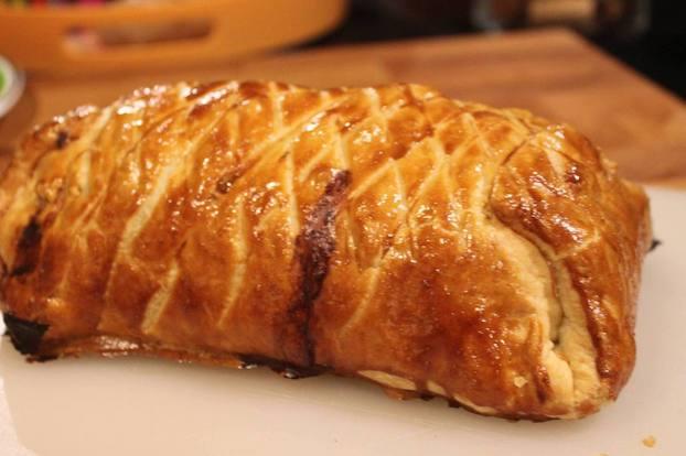 roti de porc en croute de pain filet mignon