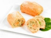 paupiette de saumon sauce pistou