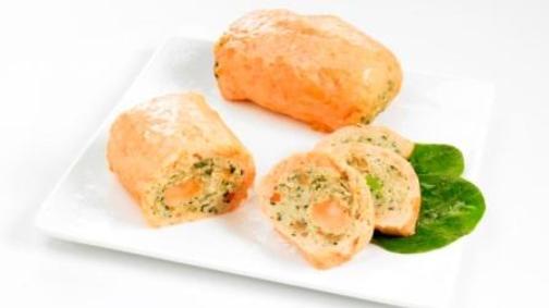 paupiette de saumon sauce pistou ail basilic