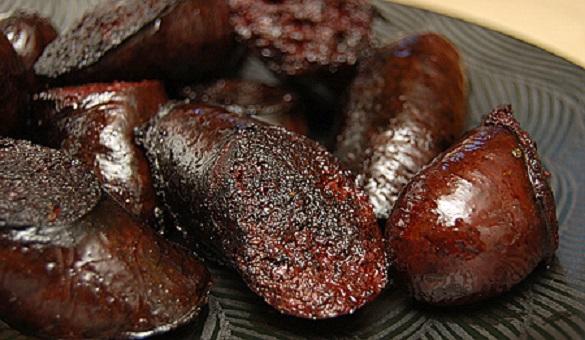 boudin noir au four recette facile
