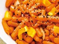 carottes à l'orange et au miel